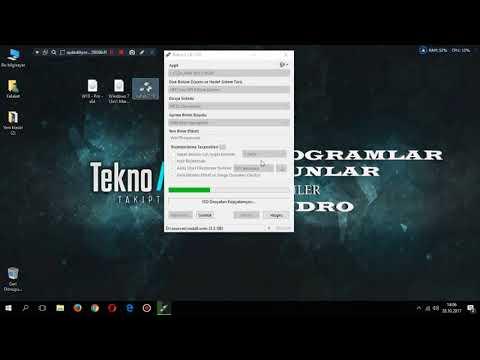 Rufus Programı Ile Windows 7 Format Usb Si Hazırlama Ve  USB Den Format Atma