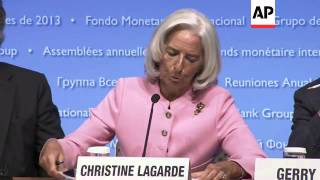 Work Bank President and IMF chief comment on world economy and US debt