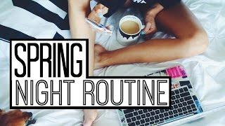 Spring Night Routine | Kalyn Nicholson thumbnail