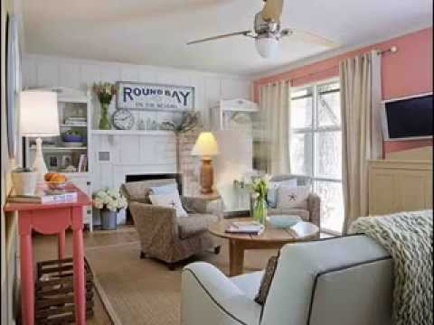 Beach cottage decor ideas - YouTube
