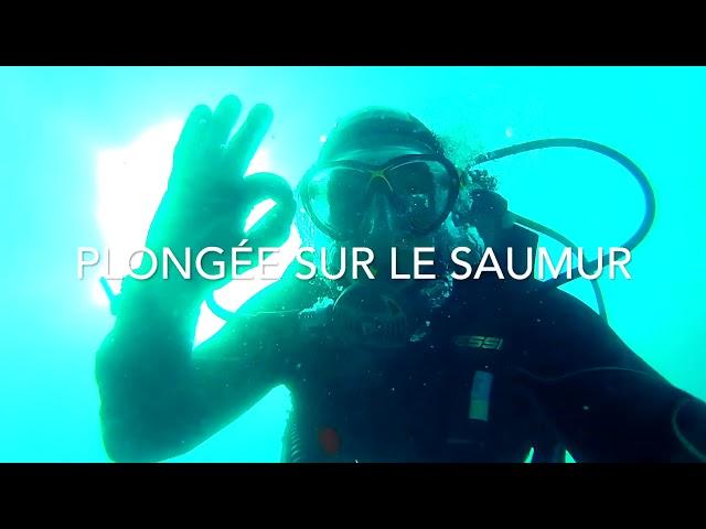 Plongée sur l'épave du Saumur by Nomad Diver à Port-Vendres juillet 2017