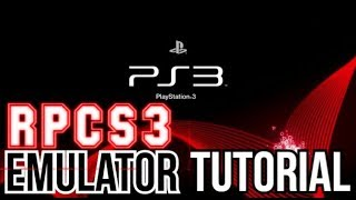Rpcs3 Emulator Tutorial