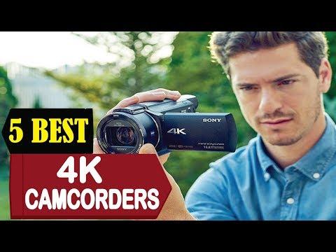 5 Best 4k Camcorders 2018 | Best 4k Camcorder Reviews | Top 5 4K Camcorders