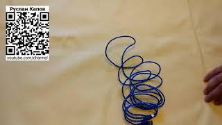 шнур плетенный микроюсб на юсб трехметровый  посылка из китая