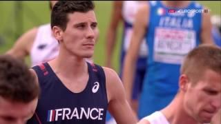 800m Men's Final - European Athletics Championships 2016 FULL HD
