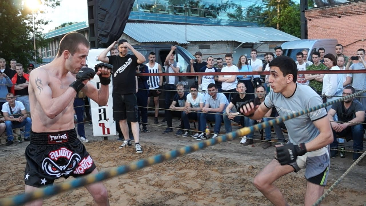 Боец с  Донбасса в Боях Без Правил