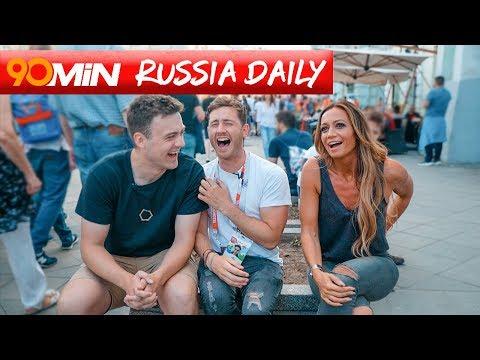 What's it like to be a TV host at World Cup 2018 ft Kate Abdo? 90min Russia Daily