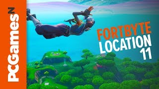 Fortnite Fortbyte guide - Number #11