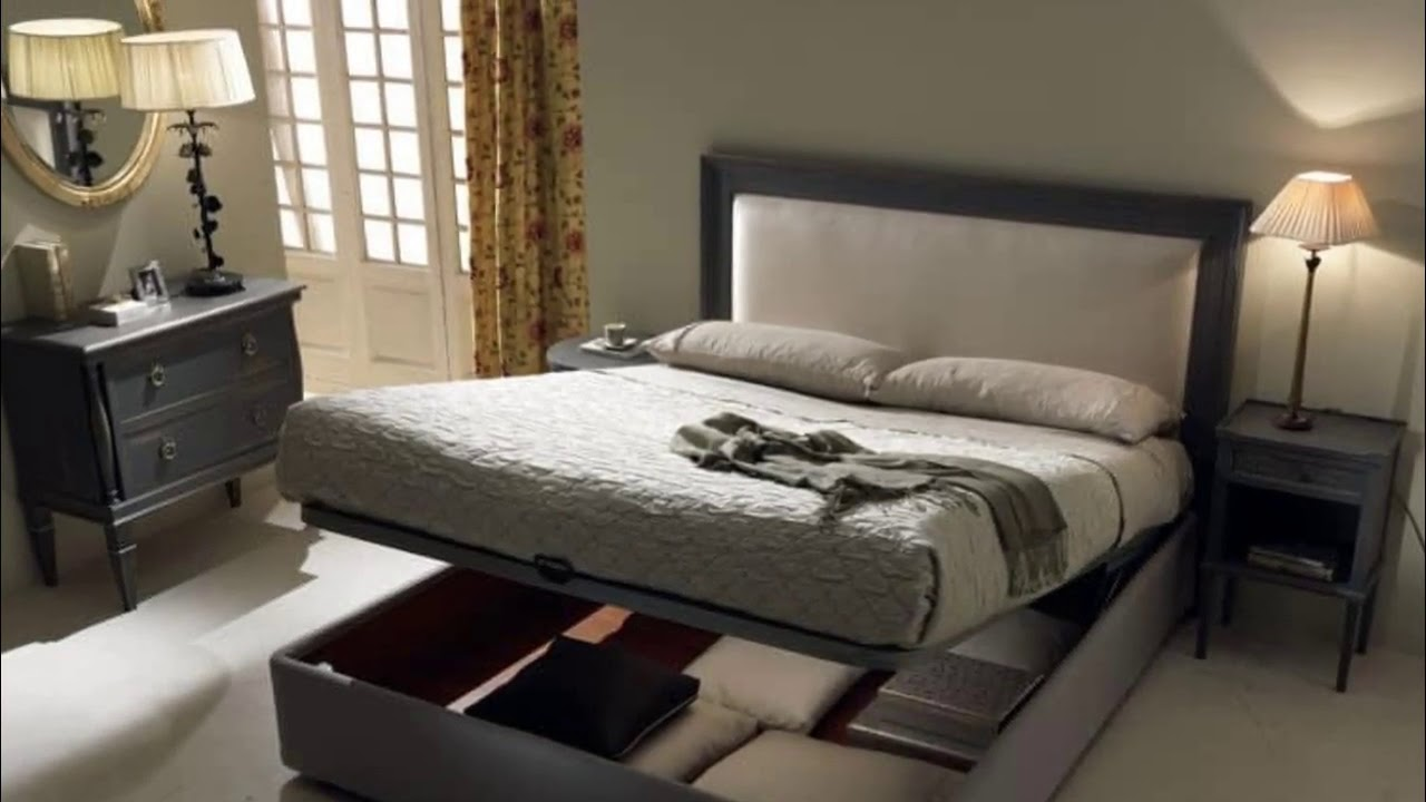 Double Bed With Box Storage Designs Youtube