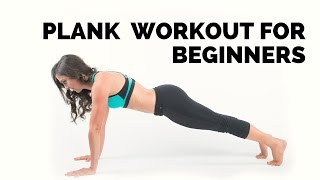 Plank interval workout. Beginners AB core workout.
