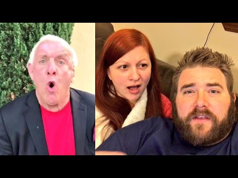 WWE SUPERSTAR RIC FLAIR AND GRIM ARE FRIENDS? HEEL WIFE ROASTS HUSBANDS HYPE!