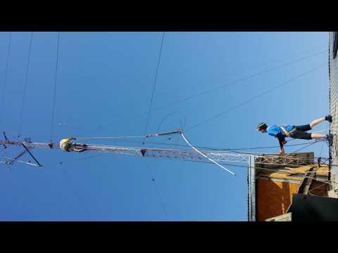 Torre Radio Aficionados  CA3GCA En Santiago de Chile