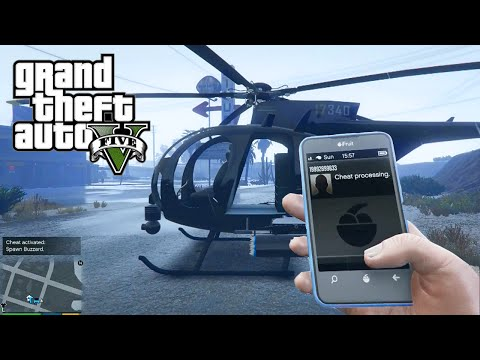 GTA 5 - NEW Cell Phone Cheat Code Numbers - Use Cheats On Your Phone (GTA V PS4 & Xbox One)
