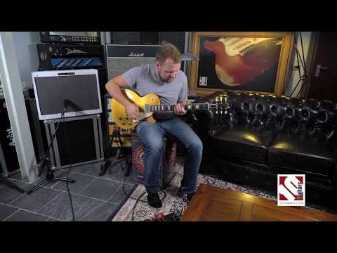 Gibson Les Paul 57 CC#36 Charles Daughtry Goldfinger (2016)