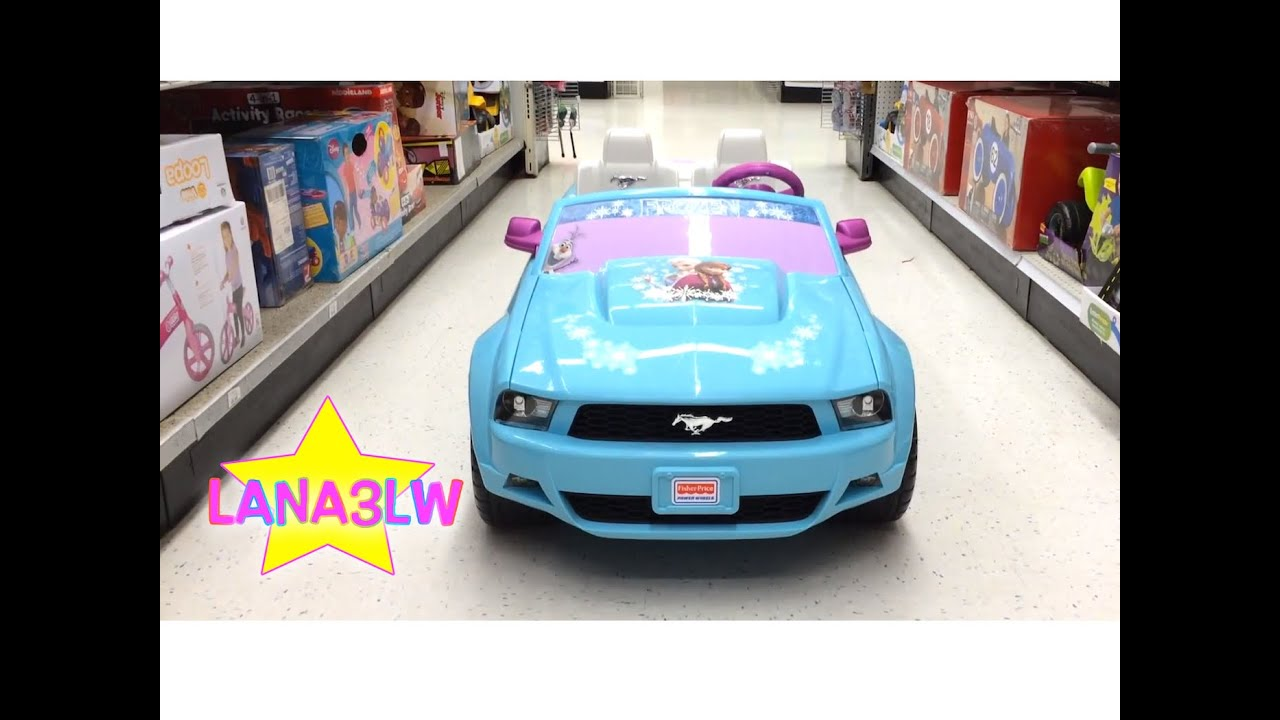 best popular kids ride on mustang disney frozen edition electric car lana3lw youtube