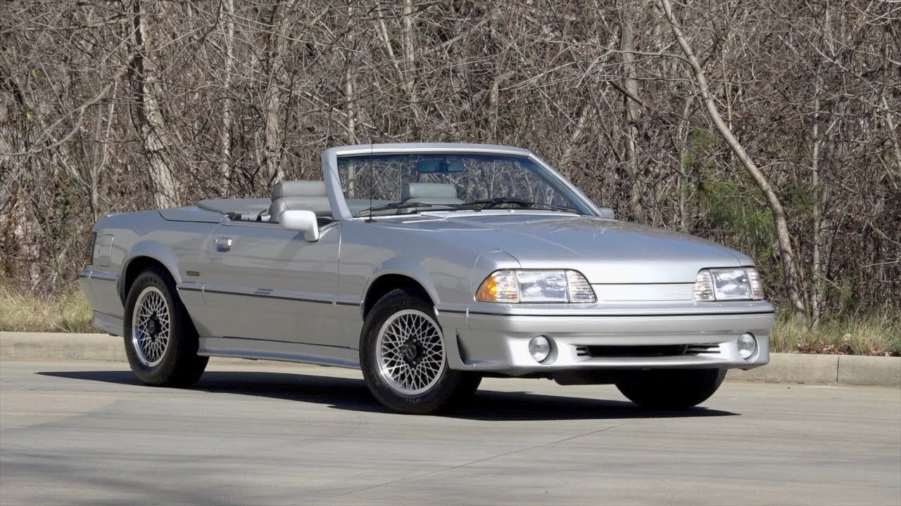 1988 ford mustang asc mclaren for sale 136173