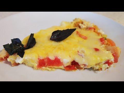 Вкусный завтрак. Турецкая кухня-Менемен.👍