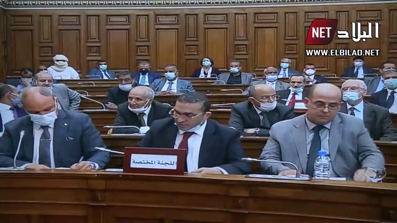 اعضاء مجلس الأمة يصادقون على مشروع قانون المالية التكميلي 2020