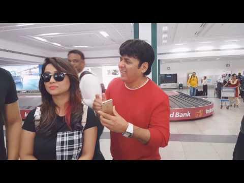 Ek Photo 📷 Please | Sudesh Lehri, Krushna & Adaa Khan | Fun at the airport ✈️ 😂 | PSE