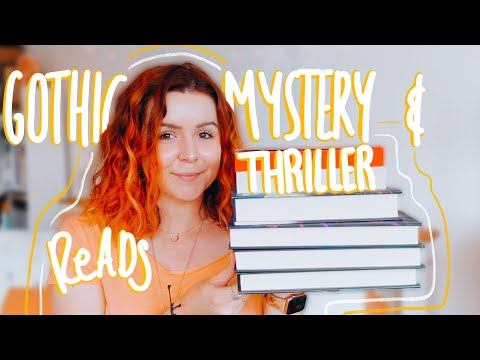 A gothic, thriller & mystery themed book haul and recommendations list