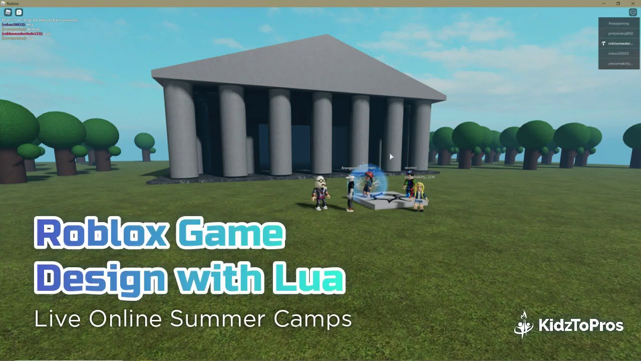 Roblox Game Design with Lua - Online ...