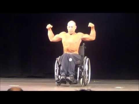 Dave Wheeler  2015 BCs Wheelchair Bodybuilding
