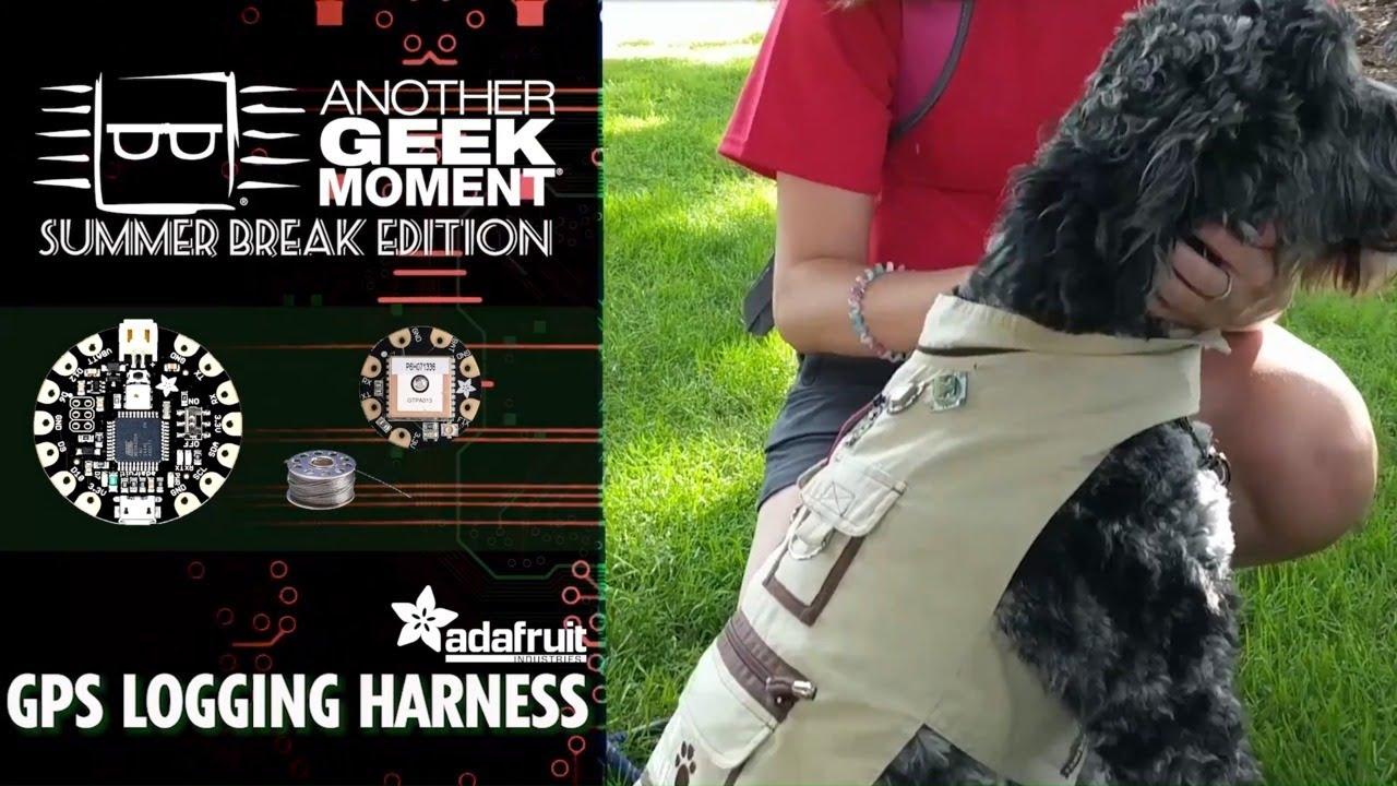 GPS Logging Dog Harness – @Digikey « Adafruit Industries