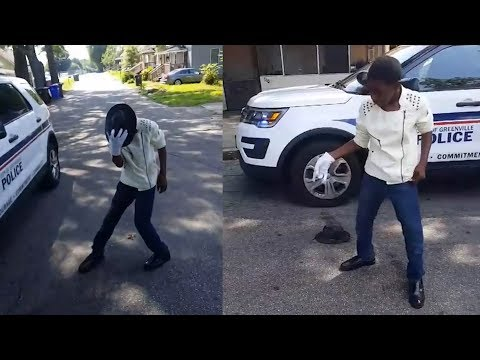 Cop Impressed By 12-Year-Old's Michael Jackson Dance Moves