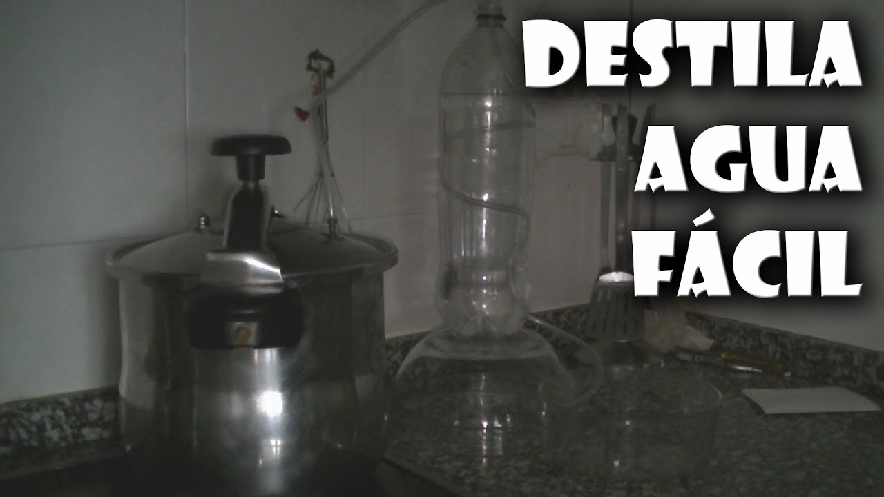 Cómo Conseguir Agua Destilada Fácil Youtube