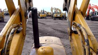 John Deere 350 and Cat 939 Track Loaders