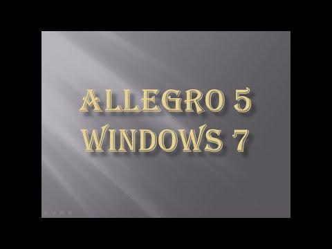 Como Baixar e instalar Allegro 5 para Windows 7