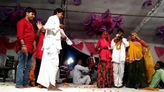 राधेश्याम जी बडागाव के गीतो पर अपने आप को नही रोक पाये करपाल मीणा नहेड
