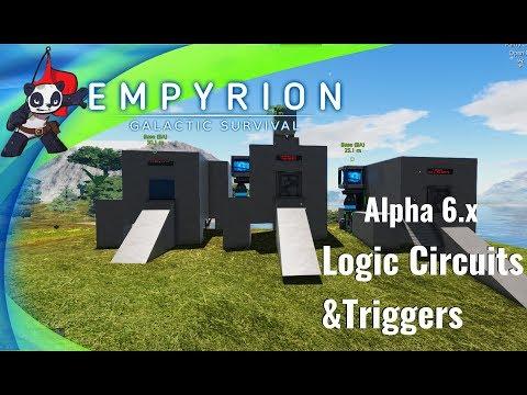 Empyrion Galactic Survival | Alpha 6 | Logic Scripts | Doors and Sensors