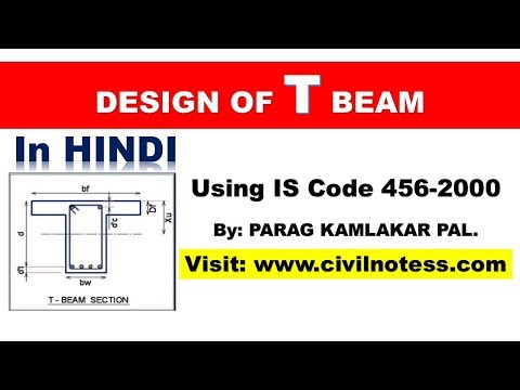 Design of Intermediate T Beam