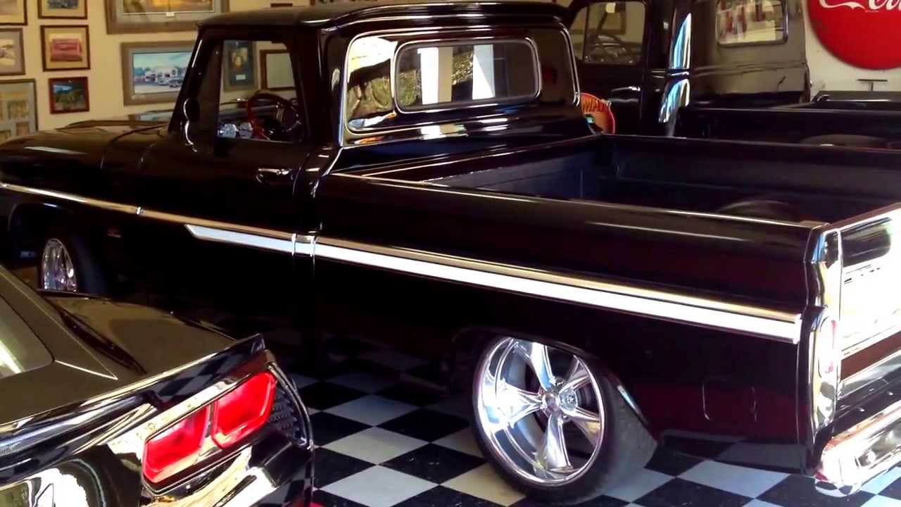 Copy of 1966 Pro Touring Chevy truck for sale - YouTube
