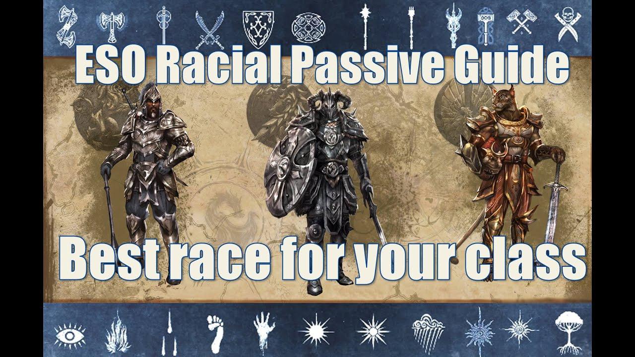 Eso Race Passives