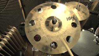 18 sabian hhx evolution o zone crash