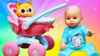 Stroller for Baby Doll: Baby Annabell Doll Videos - Baby Annabell Doll Accessories
