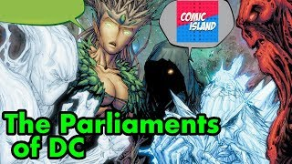 Origins/Bio - The Parliaments of DC: The Red, The Green, and the Rot