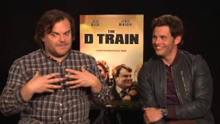 The D Train's Jack Black & James Marsden reveal the most uncomfortable role they ever played