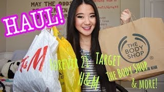 HAUL: H&M, Forever 21, The Body Shop, & more!