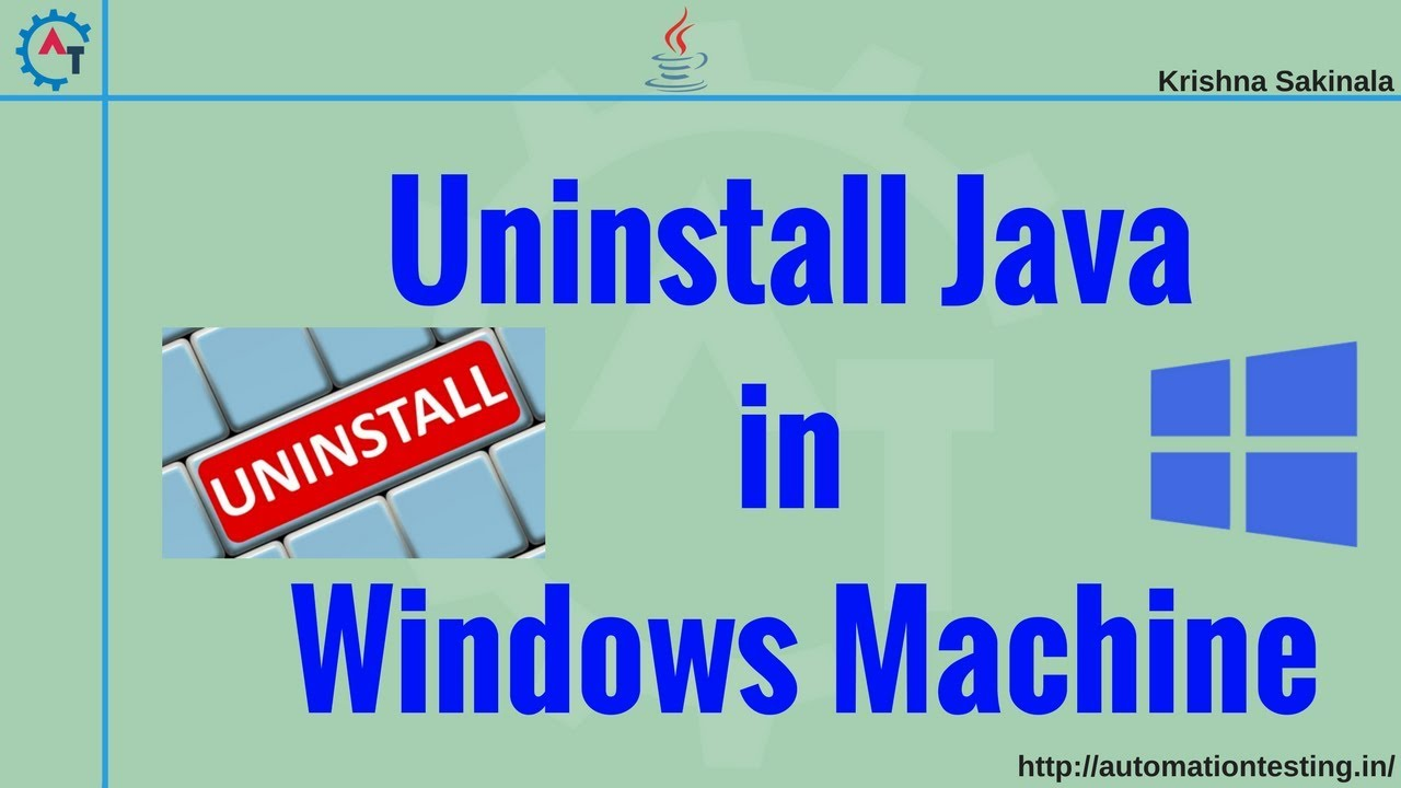 How to Completely Uninstall Java from Windows Machine (100%)