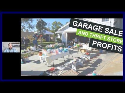 Profitable Garage Sale & Thrift Store Sourcing Strategies for Amazon FBA - Webinar