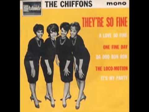 The Chiffons A Love So Fine Only My Friend