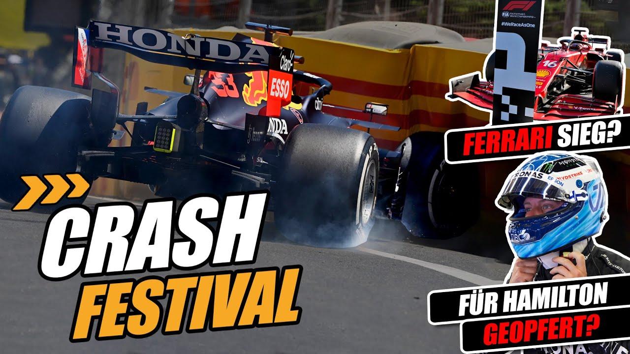 Crash-Festival in Baku: Warum gab es so viele Unfälle? | Formel 1 2021