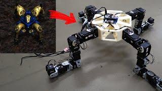 거미 로봇...!??ㅋㅋ각종 동물 로봇을 만드는 곳에 …