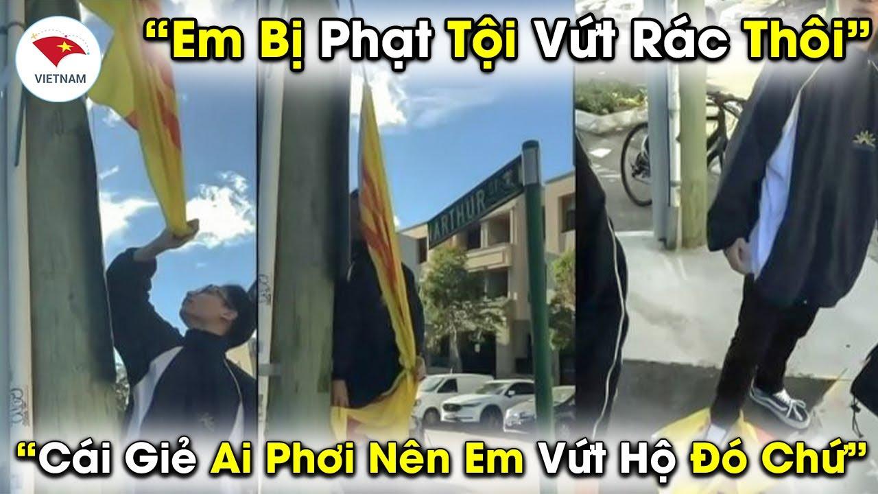 Thực Hư Chuyện Du Học Sinh Việt Nam Giật Cờ 3 Sọc Bị Lãnh Án 15 Năm Tù