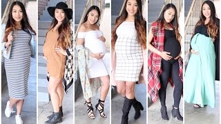 Outfits for Pregnancy without buying Maternity Clothes