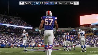 Madden NFL 19 - Buffalo Bills vs Indianapolis Colts - Gameplay (HD) [1080p60FPS]