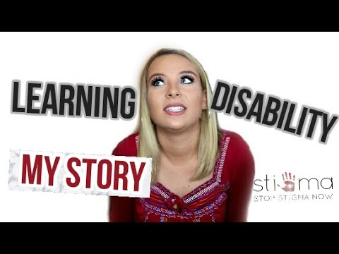 STORYTIME: My LEARNING DISABILITY-How I found out, STIGMAS, advice , & MORE!